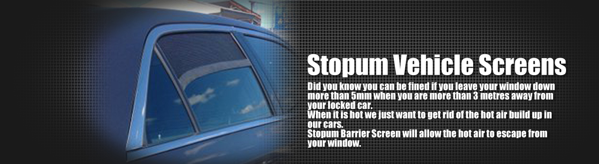Stopum Vehicle Screens
